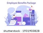 employee benefits package... | Shutterstock .eps vector #1931903828