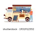 Burger Street Food Market Truck ...