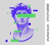 vector michelangelo's david...   Shutterstock .eps vector #1931918888