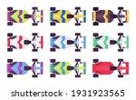 car sport high speed set  race... | Shutterstock .eps vector #1931923565