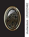 art deco element  vector... | Shutterstock .eps vector #1931925482