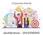 employee loyalty concept.... | Shutterstock .eps vector #1931930045