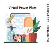 vegetables farming industry...   Shutterstock .eps vector #1931938955