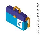 business briefcase financial... | Shutterstock .eps vector #1931991305