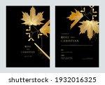 floral wedding invitation card... | Shutterstock .eps vector #1932016325