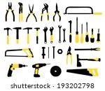 tools   Shutterstock .eps vector #193202798