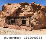 Old Mining House At Calico...
