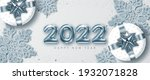 2022 new year card template... | Shutterstock .eps vector #1932071828