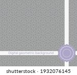 vector seamless pattern with...   Shutterstock .eps vector #1932076145