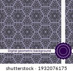 mirror seamless pattern with...   Shutterstock .eps vector #1932076175
