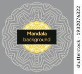 mandala image for relaxing....   Shutterstock .eps vector #1932076322