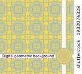 geometric simple seamless...   Shutterstock .eps vector #1932076328