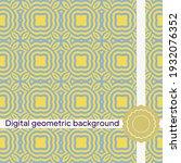seamless geometric patterns....   Shutterstock .eps vector #1932076352