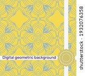 seamless vector decorative...   Shutterstock .eps vector #1932076358
