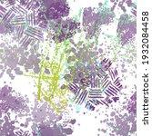 spray seamless pattern. fashion ...   Shutterstock .eps vector #1932084458