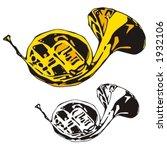 music instrument series. vector ... | Shutterstock .eps vector #1932106