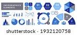 assortment of infographics... | Shutterstock .eps vector #1932120758