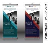 smart roll up banner  modern...   Shutterstock .eps vector #1932149075