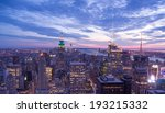 new york city financial district | Shutterstock . vector #193215332