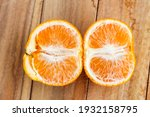orange fruits on wood table | Shutterstock . vector #1932158795
