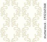 baroque wallpaper. seamless...   Shutterstock .eps vector #1932165368