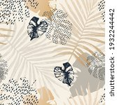 abstract tropical summer... | Shutterstock .eps vector #1932244442