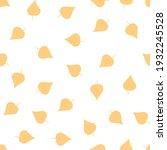 seamless simple pattern. yellow ... | Shutterstock . vector #1932245528