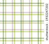 checkered stripe pattern  green ...   Shutterstock .eps vector #1932247202