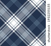 plaid pattern large herringbone ... | Shutterstock .eps vector #1932255155