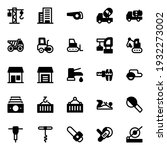 Glyph Icons For Tools And...