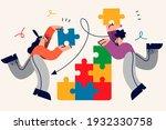 collaboration  teamwork ...   Shutterstock .eps vector #1932330758