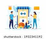 online application catalog of...   Shutterstock .eps vector #1932341192