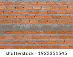Red Brick for wall struture building for new house.