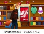 a vector illustration of man...   Shutterstock .eps vector #193237712