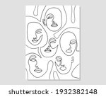 minimal and abstract continuous ...   Shutterstock .eps vector #1932382148