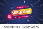 super deal flash sale all item... | Shutterstock .eps vector #1932402875