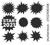 starburst set. starburst... | Shutterstock . vector #1932408338