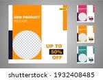 new set of editable minimal... | Shutterstock .eps vector #1932408485