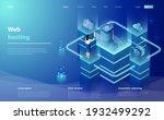 web hosting  development... | Shutterstock .eps vector #1932499292