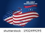 happy independence day greeting ...   Shutterstock .eps vector #1932499295