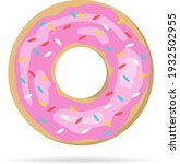Donut  Realistic Donut With...