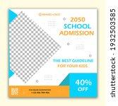 social media post design for... | Shutterstock . vector #1932503585
