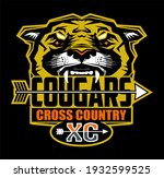 cougars cross country team...   Shutterstock .eps vector #1932599525
