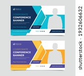 conference web banner design... | Shutterstock .eps vector #1932606632