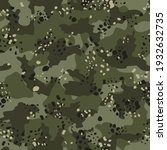 army khaki camouflage  classic ... | Shutterstock .eps vector #1932632735