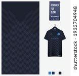 soccer jersey pattern design.... | Shutterstock .eps vector #1932704948
