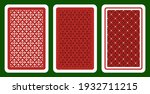 bridge size playing card... | Shutterstock .eps vector #1932711215