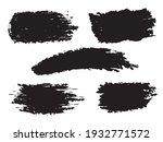 hand drawn of brush stroke for... | Shutterstock .eps vector #1932771572