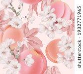 fruit seamless pattern  pastel... | Shutterstock .eps vector #1932771965