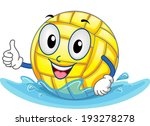 mascot illustration featuring a ... | Shutterstock .eps vector #193278278